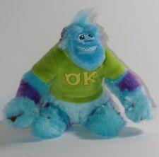 "Disney Pixar Monsters University Sitting Sullivan Sulley Sully 9"" Stuffed Plush"