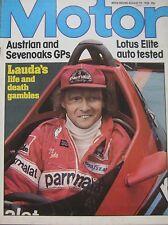 Motor magazine 19/8/1978 featuring Lotus Elite road test