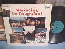 VARGAS DE TECALITLAN LP MARIACHIS EN ACAPULCO VINYL RECORDS ESTEREO ARCANO