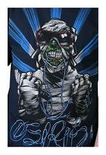 Osiris Shoes Mens Navy Cool Zombie Mummy Sunglasses T-Shirt Medium NWT