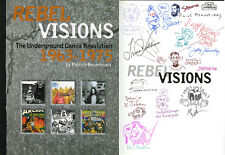 Rebel Visions Multi SIGNED Rbt Williams Bill Griffith Victor Moscoso Spain Jaxon