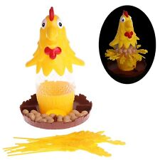 Chicken Don't Drop Egg Game Children Kid Exciting Fun Pull Out Feathers Toy Gift