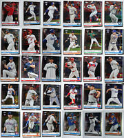 2019 Topps Chrome Baseball Cards Complete Your Set Pick From List 1-204