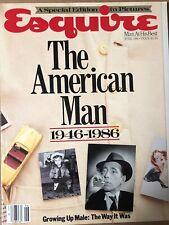 Esquire Magazine June 1986-The American Man