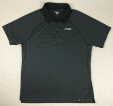 Asics - Grey Activewear Polo Shirt - Mens - Xl