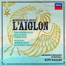HONEGGER & IBERT: L'AIGLON 2 CD NEW+ HONEGGER,ARTHUR/IBERT,JACQUES