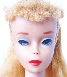 Stunning Vintage # 4 Blonde Ponytail Barbie Doll MINT