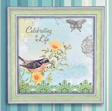 Wall Painting Picture Canvas Wooden Frame Art Modern Design -Celebrating a Life
