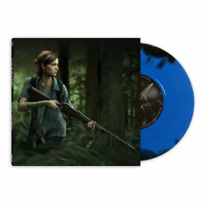 The Last of Us Part 2 Ellie Edition Limited Blue Black Swirl Vinyl LP Record 7""