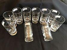 VINTAGE OLD FORESTER BEVERAGE GLASSES NEW ORIGINAL BOX-12 UNUSED VINTAGE