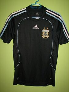 ARGENTINA 2007-09 AWAY SHIRT NIKE JERSEY SIZE XS