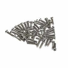 50Pcs M2 x 8mm Philips Head Screw Stainless Cross Round Head Machine Screws New