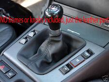 Si adatta BMW E36 3 316 318 320 325 LEATHER GEAR Ghetta Boot New