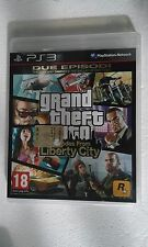 PS3 SONY PLAYSTATION 3 GTA GRAND THEFT AUTO : EPISODES FROM LIBERTY CITY