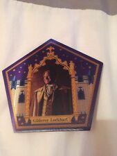 Harry Potter chocolate frog card Gilderoy Lockhart Rare Limited Edition