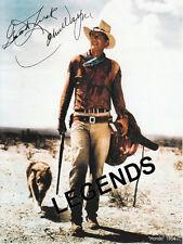 "John Wayne  1954 Movie ""HONDO""  8""x10"" COLOR AUTOGRAPHED Photo Reprint"