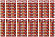 Lot of 100 Batteries-Panasonic Cr2032 Dl2032 Ecr2032 3V Lithium Coin Battery