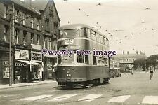a0625 - Liverpool Tram no 911 to Pier Head - photograph