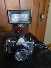 Pentax Me Super 35mm Slr Film Camera with 50 mm lens Kit