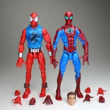 Marvel Legends Infinite Series Scarlet Spiderman & Peter Parker Action Figure