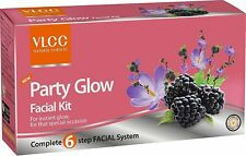 VLCC PARTY GLOW Single Facial Kit Help Exfoliate Your Skin And Remove Dead Cells