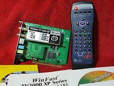 WinFast TV 2000 XP Rev B + FM Radio Tuner PCI Card WITH REMOTE W1200424 Leadtek