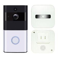 WiFi Doorbell Video Camera Door Phone Ring Intercom Home Security & Door Chime