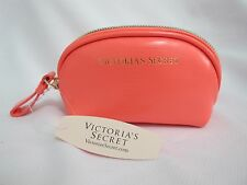 NWT Victoria's Secret Neon Coral Coin Purse/Bag *FREE SHIP*