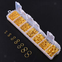 1500pcs Open Jump Rings for Jewelry Making Findings Necklace Earring Repair