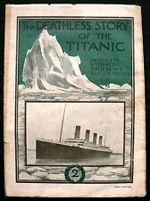 The Deathless Story Of The Titanic - First Edition - Eds. Lloyd's Weekly News