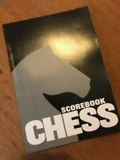 Chess Score Book - 30 Games/90 Moves per game + diagrams and continuation pages