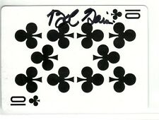 BOB GAIN AUTOGRAPHED CLEVELAND BROWNS PLAYING CARD KENTUCKY UNIVERSITY