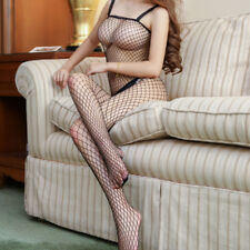 Fishnet Sexy Body stocking Babydoll Dress Sex Play Lingerie Bodysuit