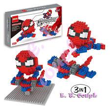 Dr Star super hero spiderman avengers x-men superman marvel diamond mini blocks