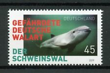 Germany 2019 MNH Porpoises Marine Animals 1v Set Whales Dolphins Stamps