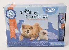 XL Dog Pet Cooling Mat 70x90cm Self-Cooling Towel Summer Sleeping Bed AGE UK