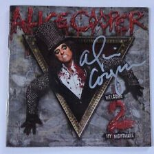 [RARE] AUTOGRAPHED - Alice Cooper - 'Welcome To My Nightmare 2' [CD] + COA
