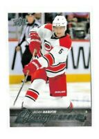 2015-16 UPPER DECK #499 NOAH HANIFIN YG RC UD YOUNG GUNS ROOKIE HURRICANES