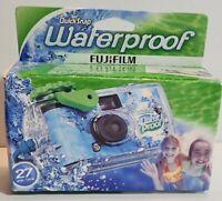 Fujifilm Quick Snap Waterproof 27 Exp. 35mm Camera 800 Film Expired    BD0497