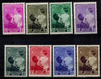 Timbres de Belgique ref COB N° 447 --> 454  Neuf **,  MNH