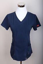 Dickies Casual V-neck Scrub Uniform Top No Size Tag