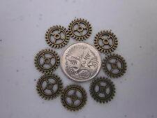 Tiny Cogs / Gears - Bronze - 1x Bag of 50 cogs/ gears
