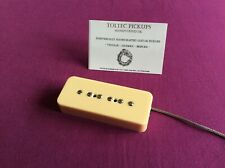 TOLTEC PICKUPS Hand Wound P90 A2 9.2K .42AWG 50mm SOUTH POLARITY Fits Gibson