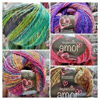*** NEW YARN***Stylecraft  AMOR Aran 40% Wool yarn knit crochet  100gm