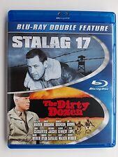 Stalag 17 / Dirty Dozen + Next Mission (Blu-ray, 2014) US import (Region ALL)