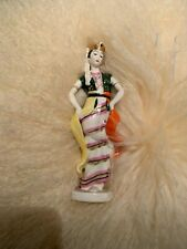 Malaysian dancer in traditional dress LZFI USSR russian porcelain figurine