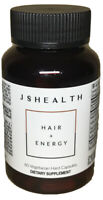 JSHealth Vitamins Hair and Energy Formula | Hair Vitamins for Women and Men NEW