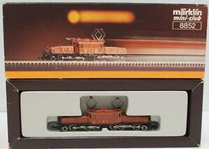 Marklin 8852 Z Electric Crocodile Locomotive LN/Box