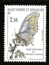 Saint Pierre et Miquelon Y&T N° 534  N** MNH TTB Faune et Flore 1991