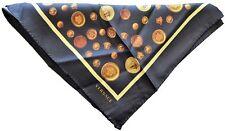 Fazzoletto da Tasca Versace Unisex Nero Fantasia Pocket Handkerchief Unisex Blac